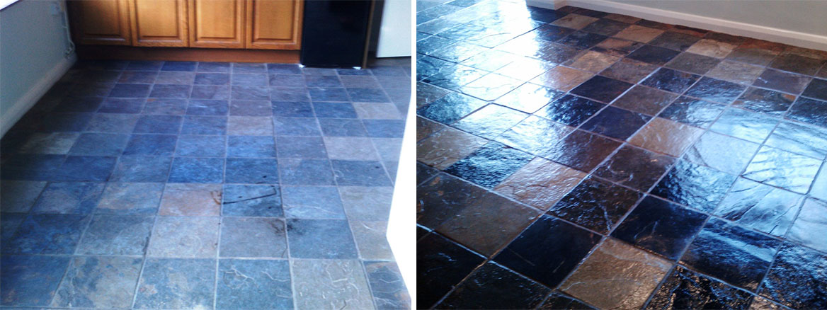 Slate-Tile-Cleaining-Floor-Bognor-Regis-Finish