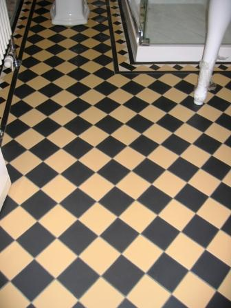 Victorian Tiled Bathroom Floor