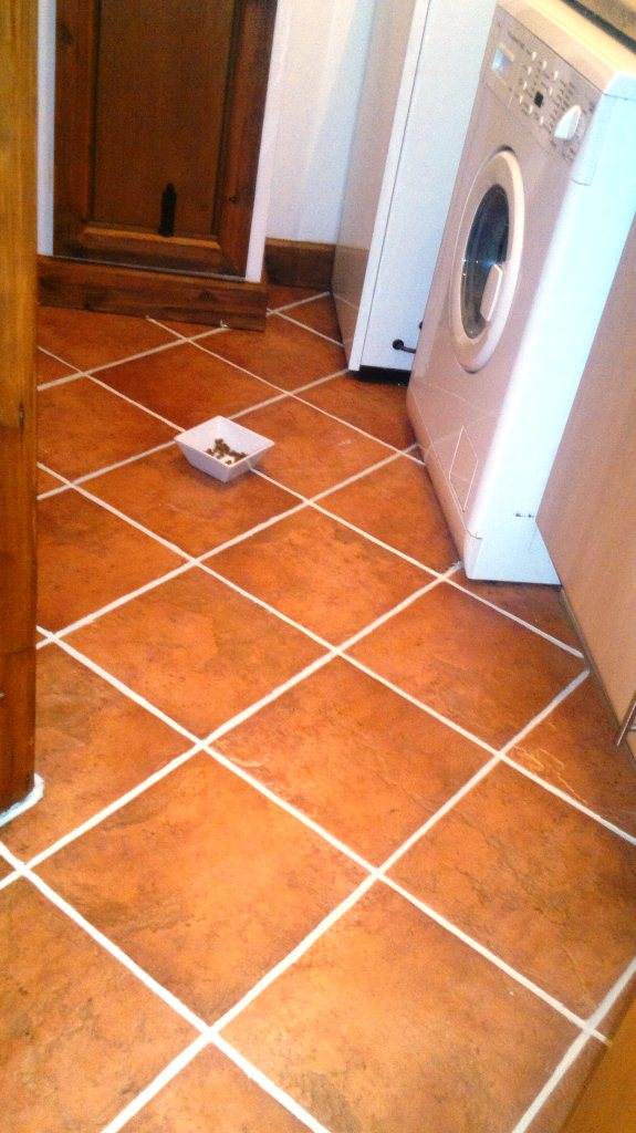 Southampton Grout Recolour After