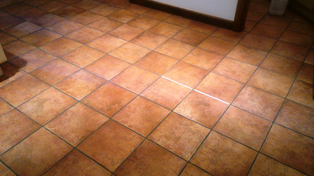 Southampton Grout Recolour Before