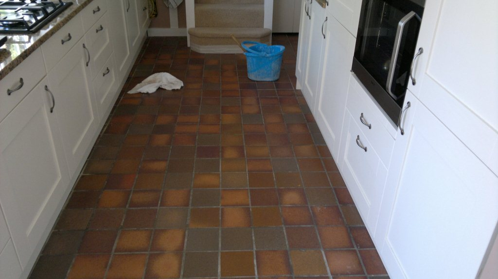 quarry tile kitchen cleaning kitchen quarry tiles quarry tiled floors 1700