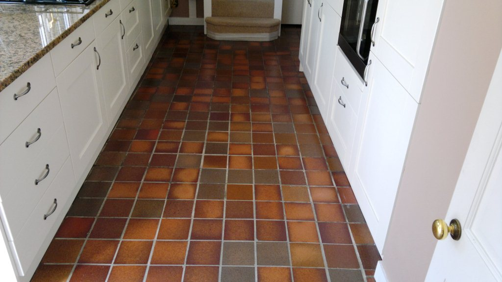 Fareham Quarry Tiled Floor Finished