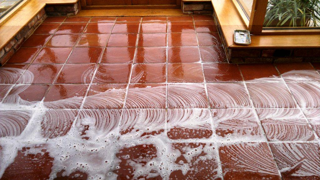 Fareham Terracotta Floor During