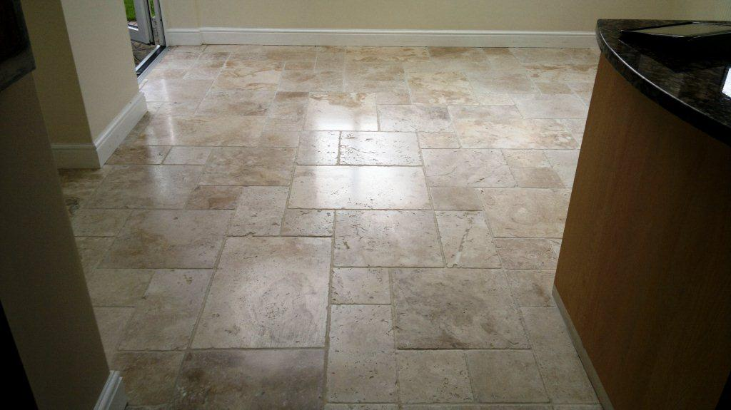Farnham Travertine Floor Finished 3