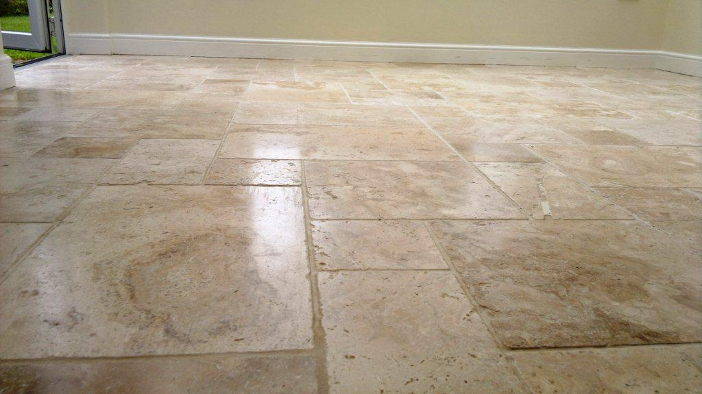 Farnham Travertine Floor Finished 4