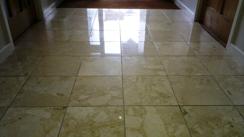 Marble Tiled Floor Petersfield Finished